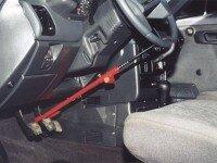 Механическая защита от угона на руль